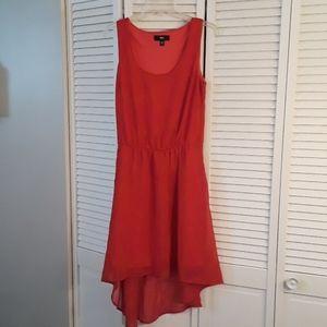 Massimo Womens Sleeveless Red Dress Size M